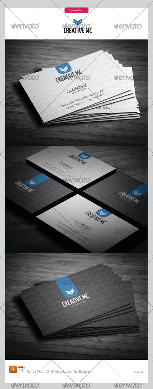 Corporate Business Cards 141 - Corporate Business Cards