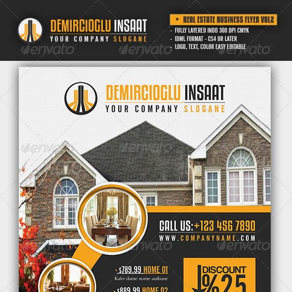 Real Estate Business Flyer Vol2