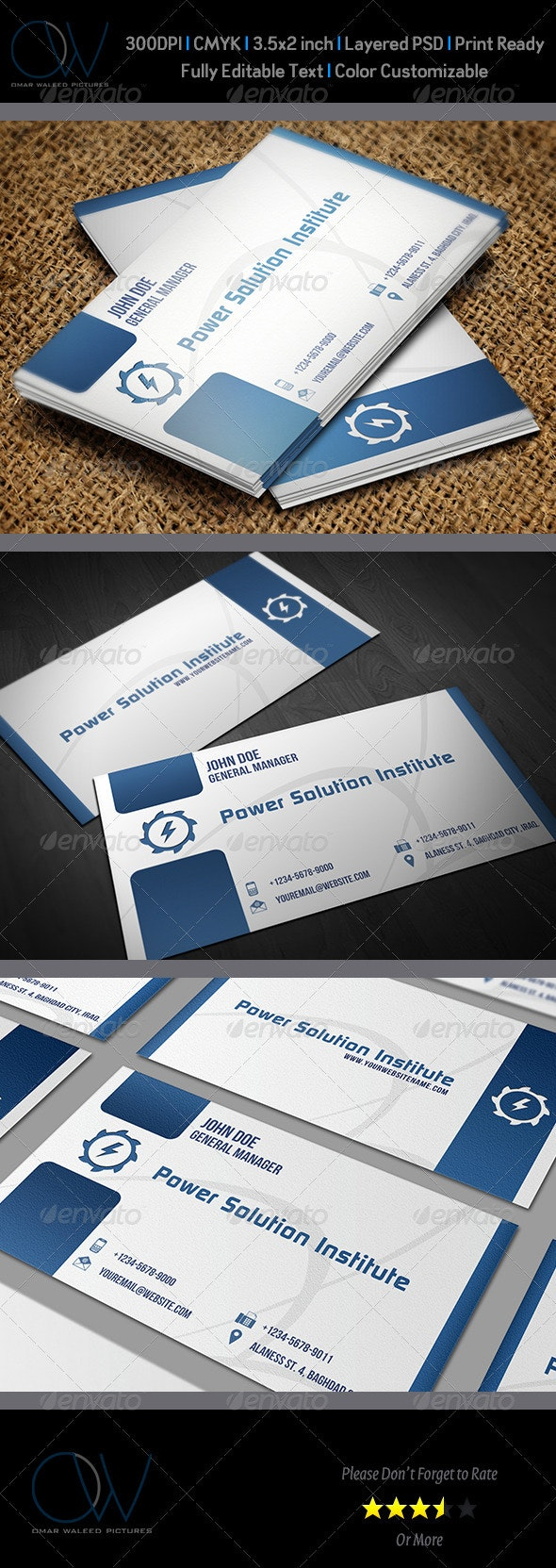 Classic Business Card Vol.5 - Corporate Business Cards
