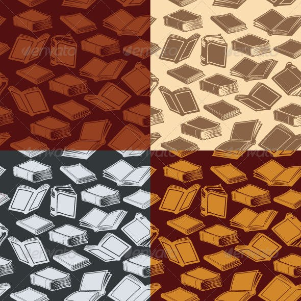 Seamless Patterns with Books