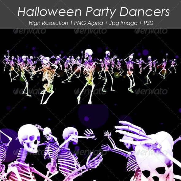 Halloween Party Dancers