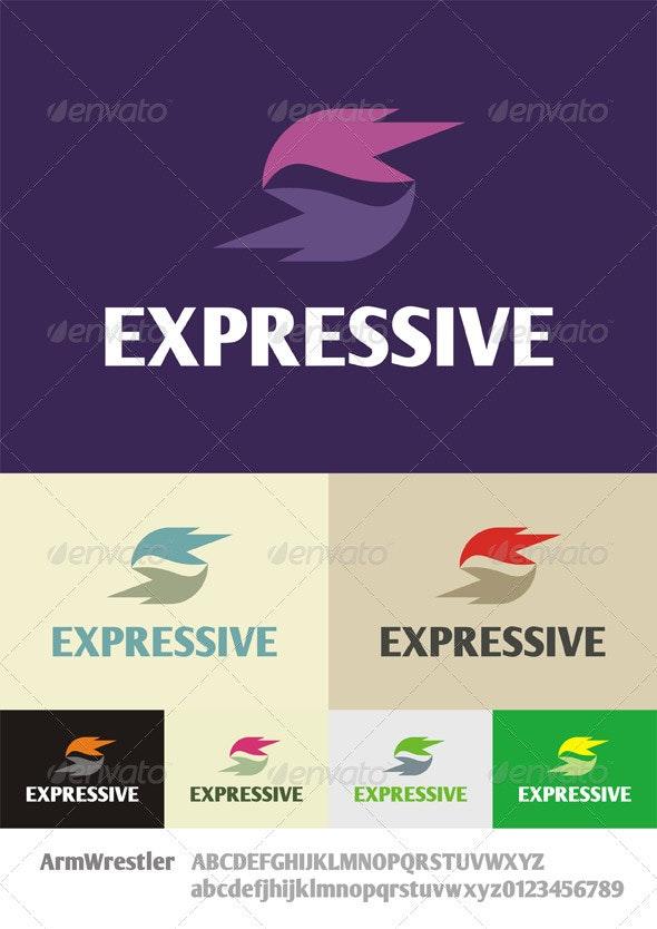 Expressive Logo - Abstract Logo Templates