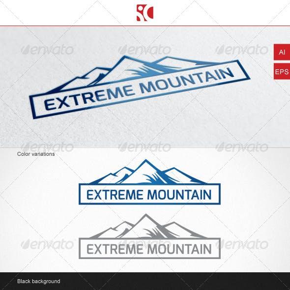 Extreme Mountain - Logo Template