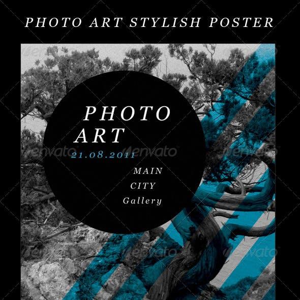 Photo Art Stylish Poster