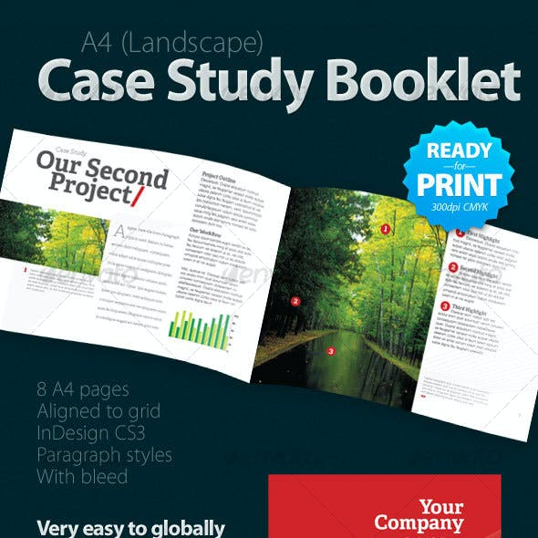 Case Study Booklet (8 pages)