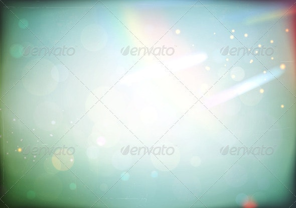 Retro abstract background  - Characters Vectors