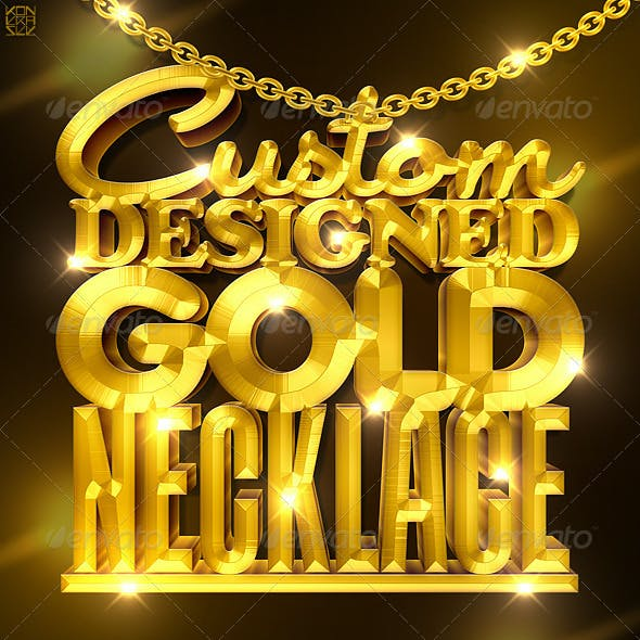 Custom Designed Gold/Silver Necklace Creator