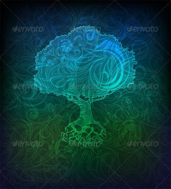 Tree - Backgrounds Decorative