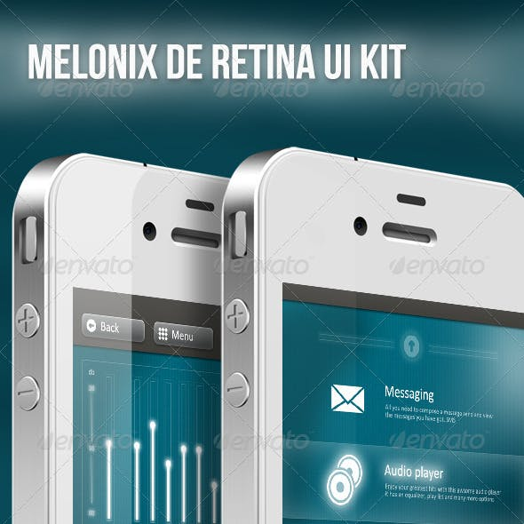 Melonix Futuristic Retina Ui