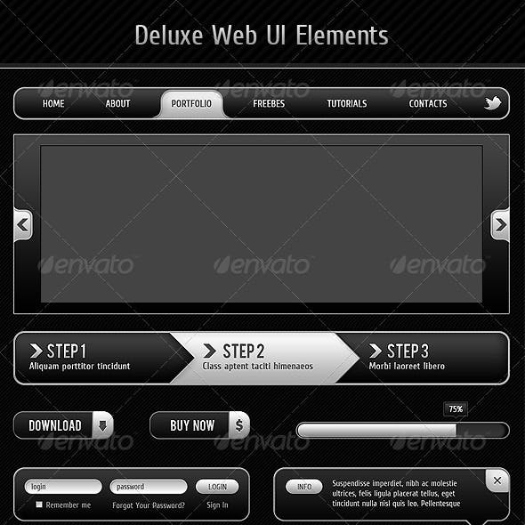 Deluxe Web UI Elements