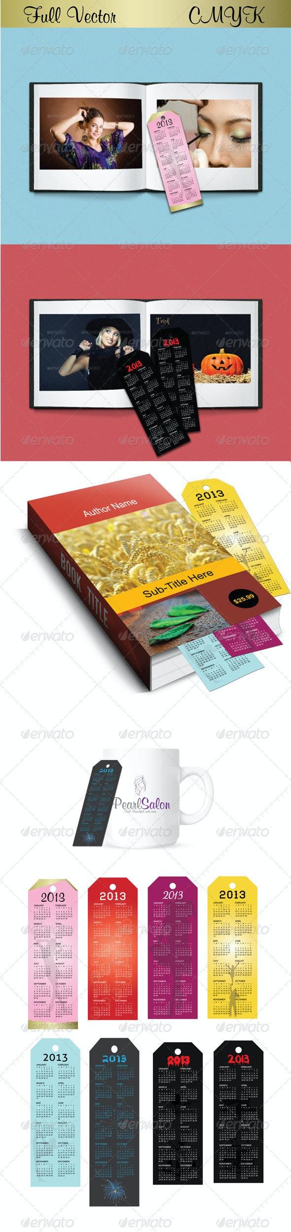 Bookmark-Calendar-1002 - Miscellaneous Vectors
