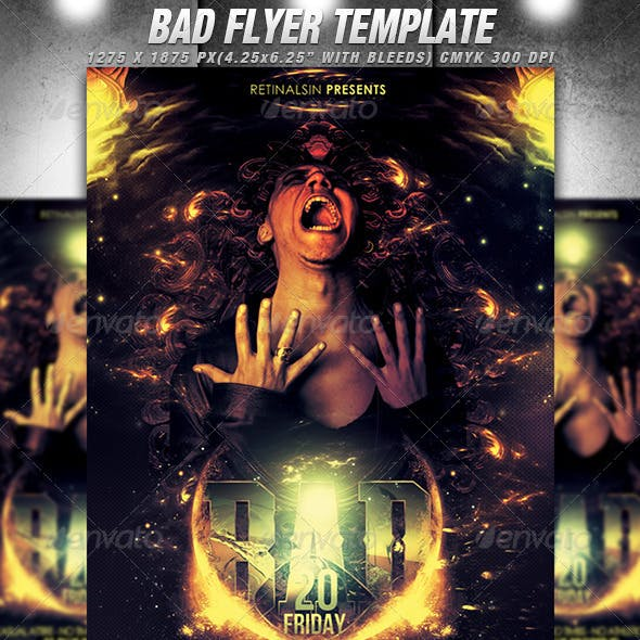 Bad Flyer Template