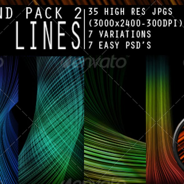 Smooth Lines Background Pack