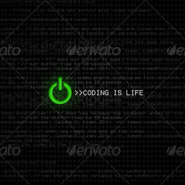Coding Is Life HD