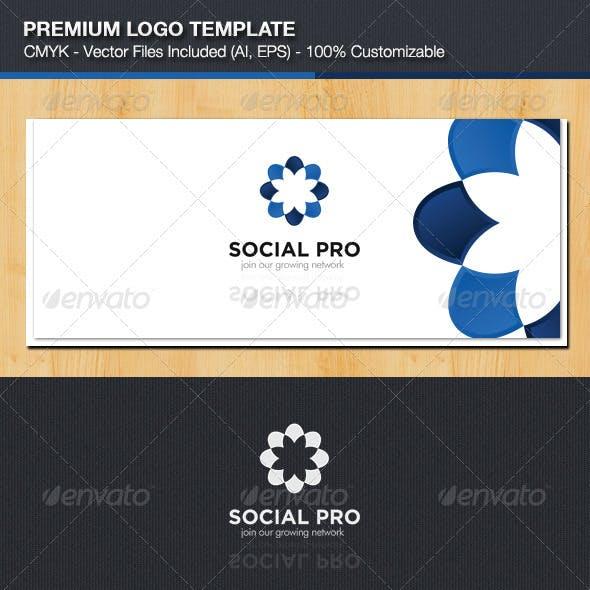 Creative Social Logo Template