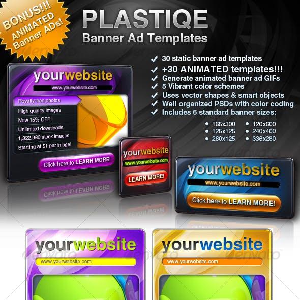 Plastique Banner Ad Templates +Bonus!