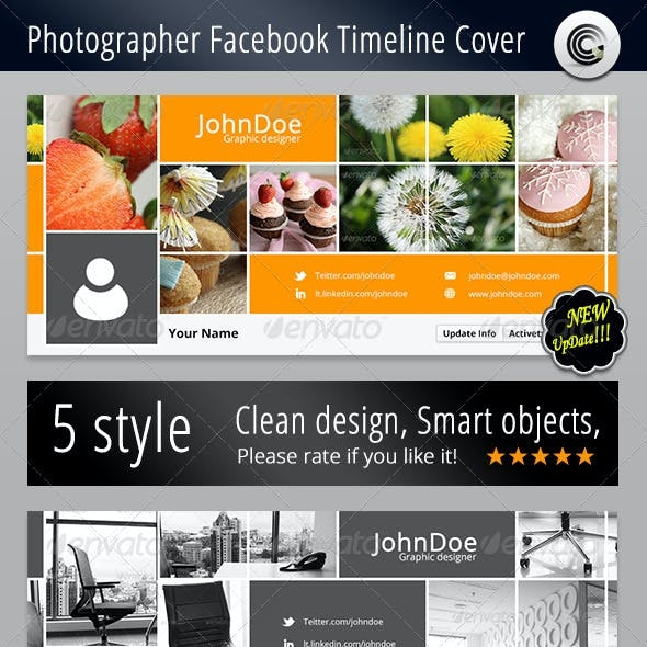 Photographer FB Timeline Cover