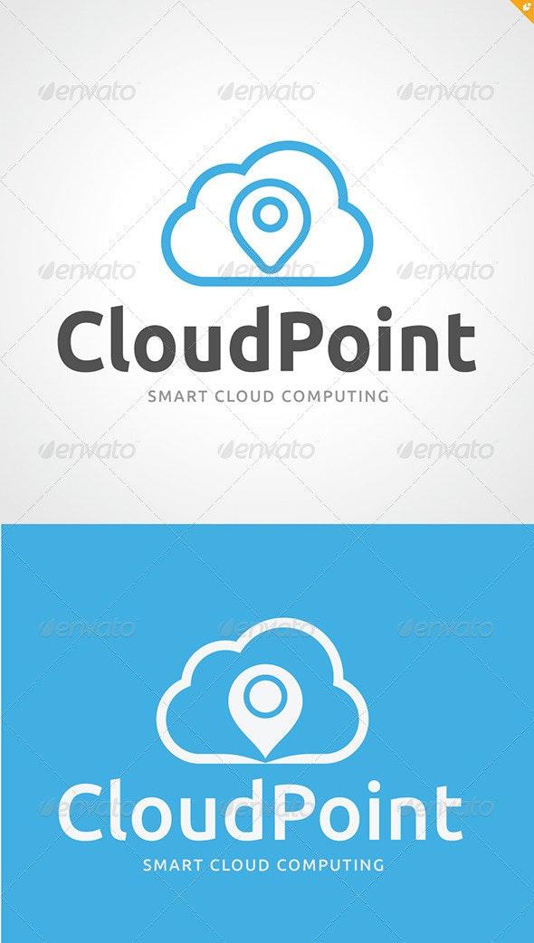 Cloud Point Logo - Nature Logo Templates