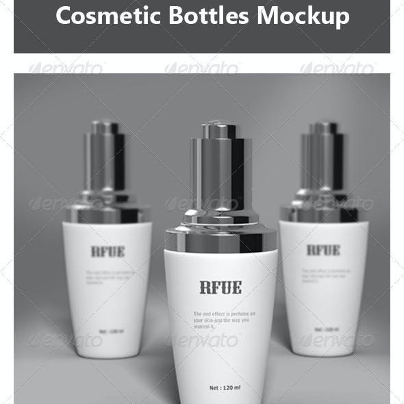 Cosmetic Bottles Mock-up