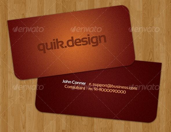 Quik-Business Card - Creative Business Cards