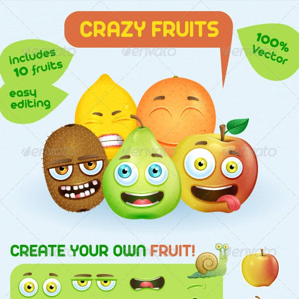 Grazy Fruits Creation Kit