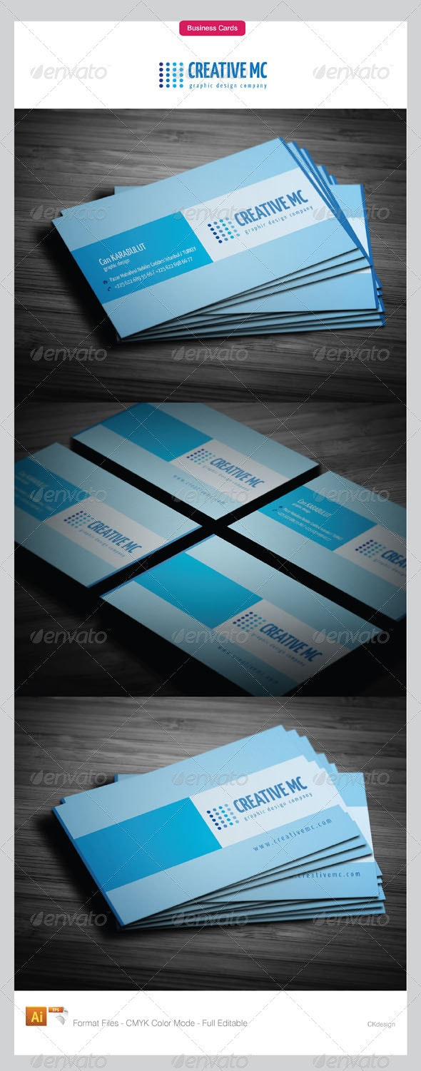 Corporate Business Cards 143-2 - Creative Business Cards