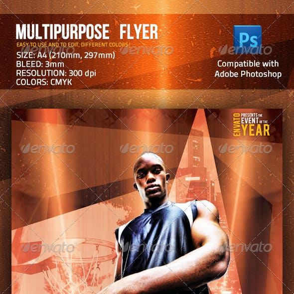 Multipurpose Streetball Basketball Fitness Flyer