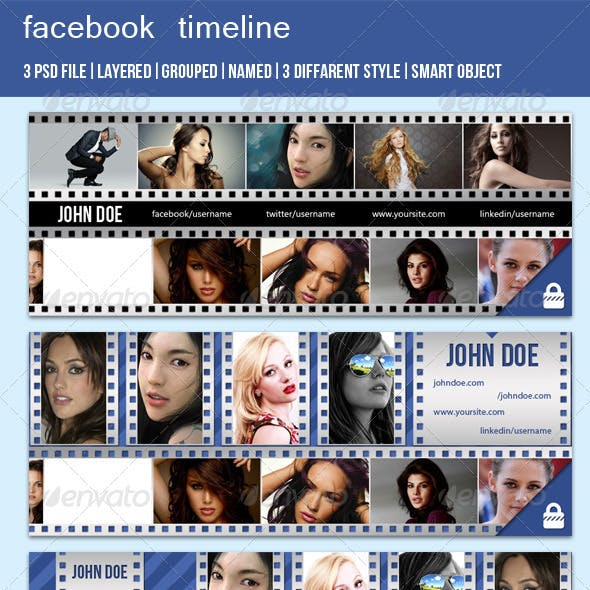 Film Style FB Timeline Cover Image