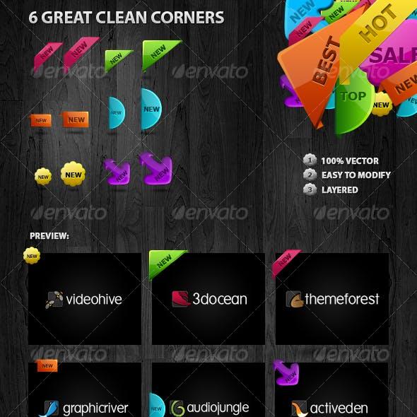 6 New Corners (Labels)