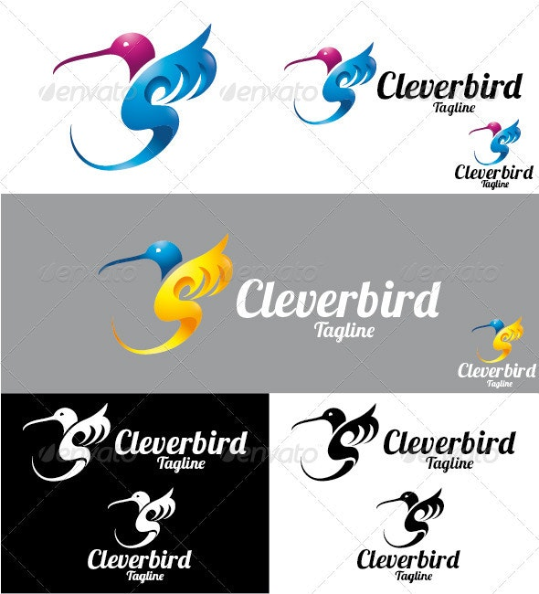 Cleverbird Logo - Animals Logo Templates