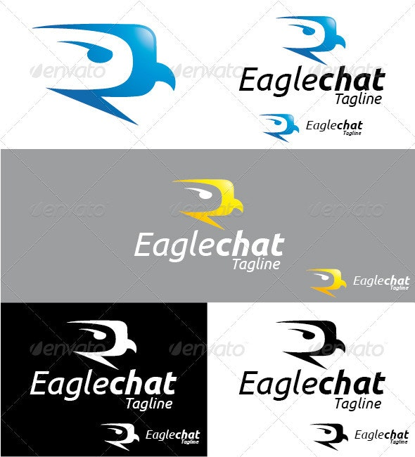 Eaglechat Logo - Symbols Logo Templates