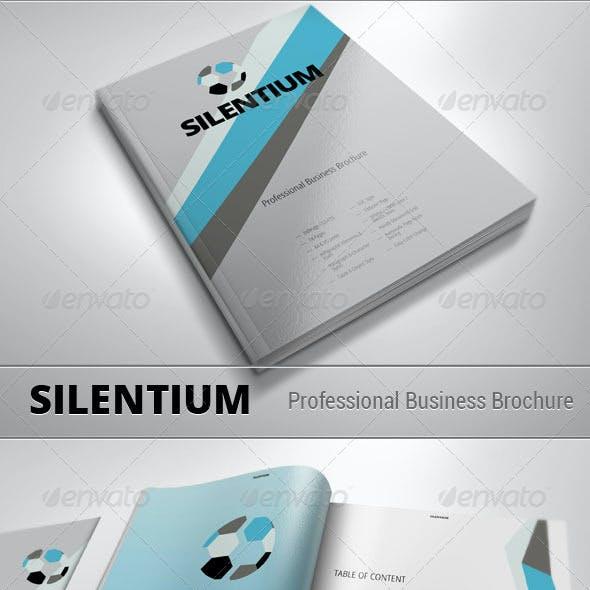 SILENTIUM - Modern Business Brochure