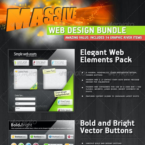 The Big Web Designers Asset Pack
