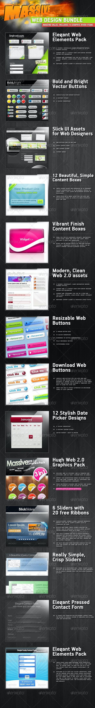 The Big Web Designers Asset Pack - Web Elements