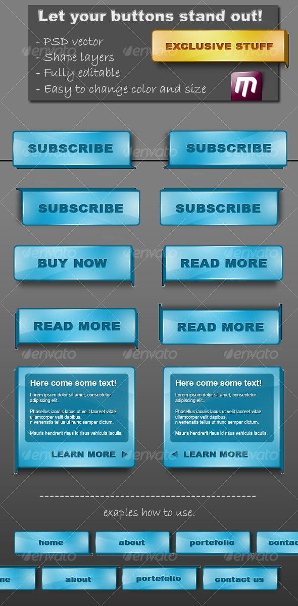 ComeOut Buttons - Buttons Web Elements