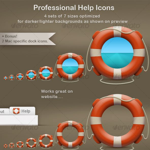 Professional Help Icons