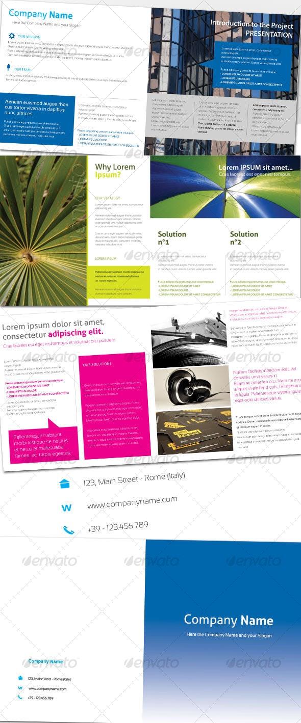 Generic Brochure 01 (8 pag.) - Corporate Brochures