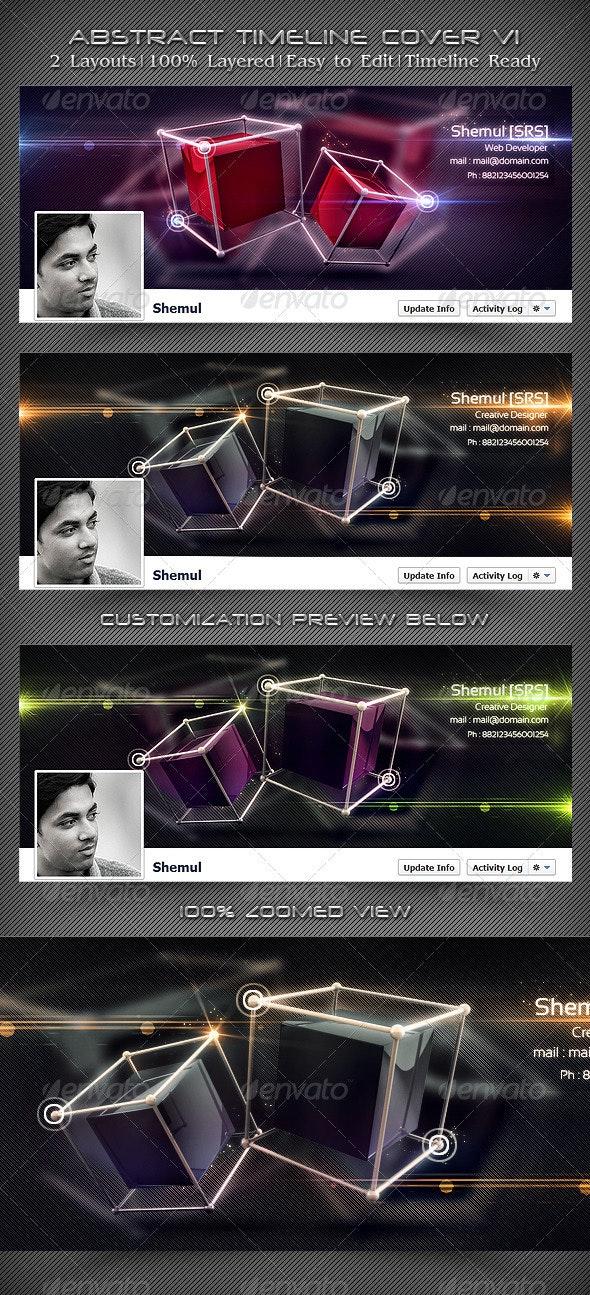 Abstract Timeline Cover V1 - Facebook Timeline Covers Social Media
