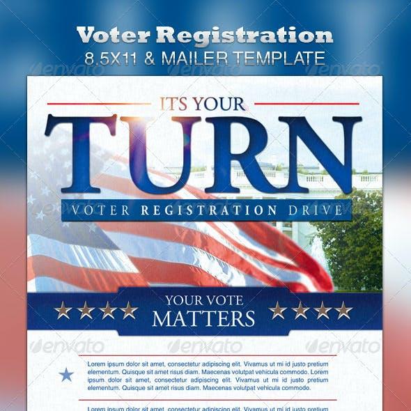 Voter Registration 8.5x11 & Mailer