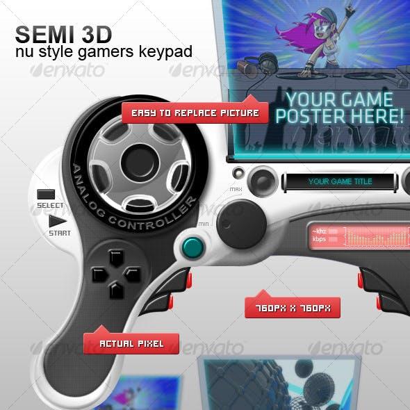 Custom Gamers Keypad