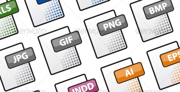 Document Icons - Web Icons