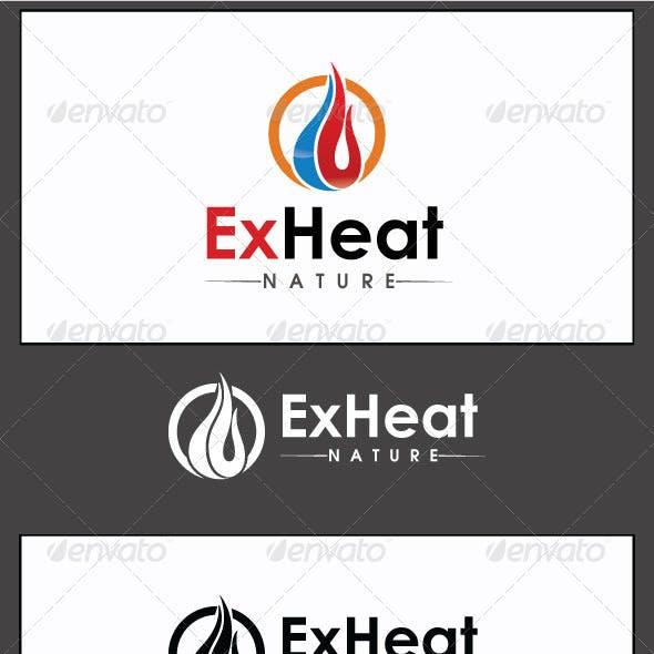 ExHeat - Logo Template