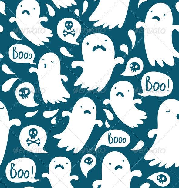 Ghost Pattern - Patterns Decorative