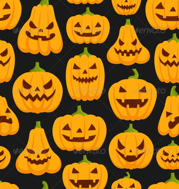Pumpkin Pattern - Patterns Decorative