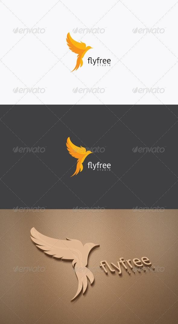 Fly Free Logo - Animals Logo Templates