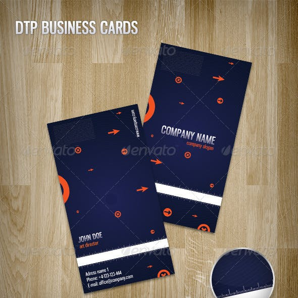 DTP Business Cards