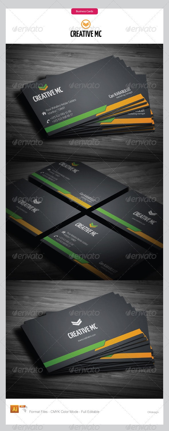 corporate business cards 147 - Creative Business Cards
