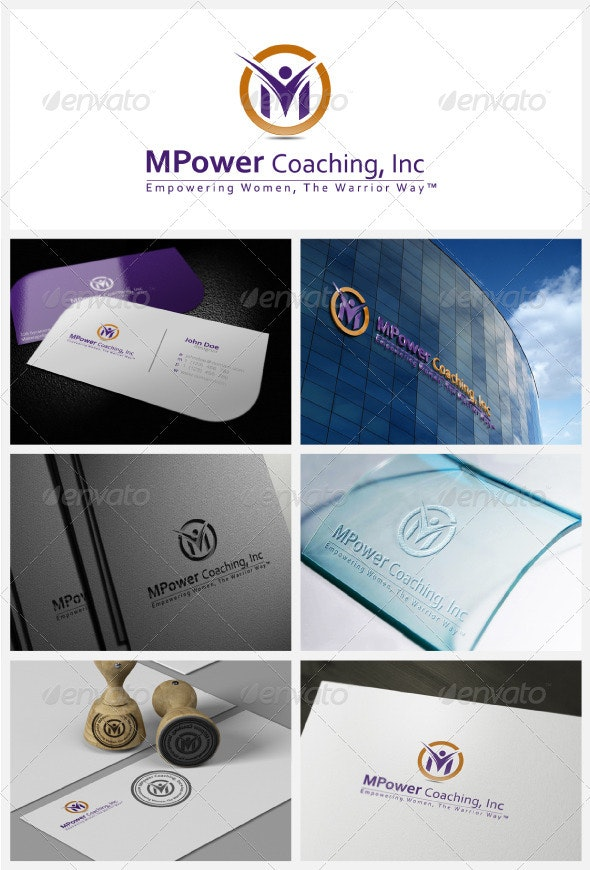 MPower Coaching Logo - Letters Logo Templates