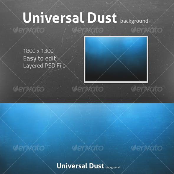 Universal Dust background