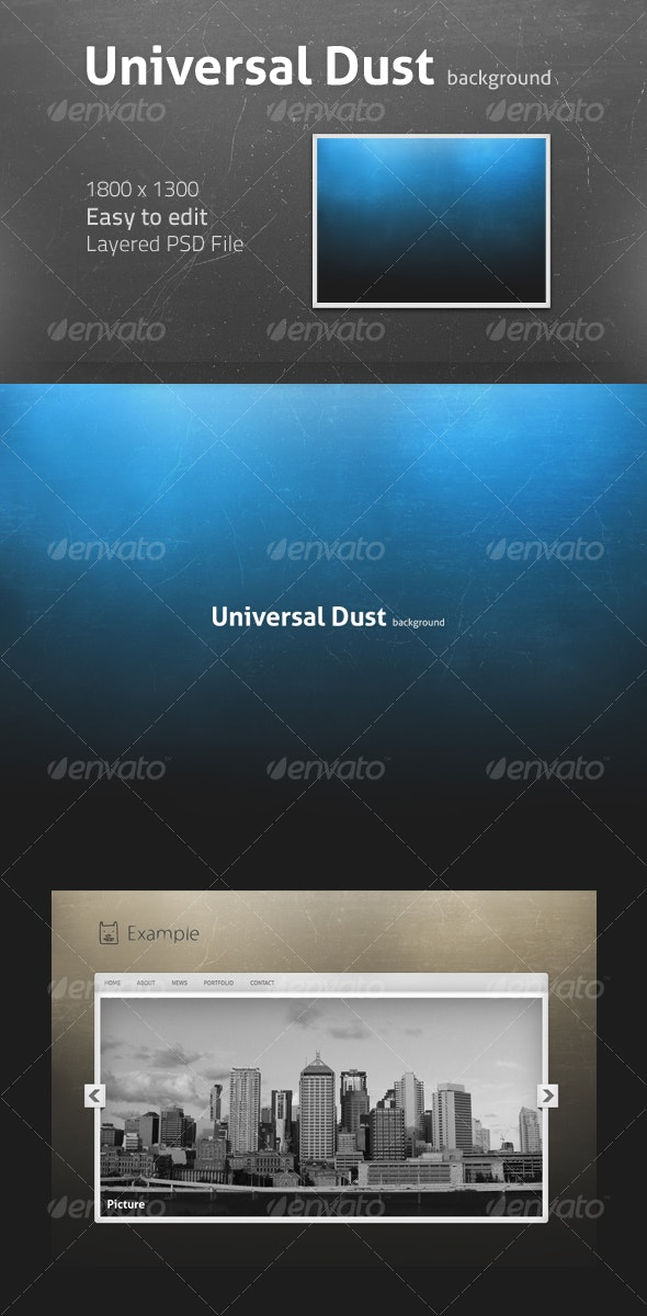 Universal Dust background - Backgrounds Graphics